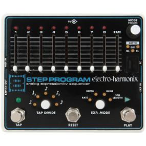 Electro-Harmonix 8-Step Program Analog Expression/CV Sequencer Guitar Effects Pedal