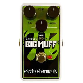 Electro-Harmonix NANO BASS BIG MUFF PI Distortion/Sustain Bass Effects Pedal