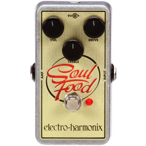 Electro-Harmonix SOUL FOOD Overdrive Guitar Effects Pedal - Distortion/Fuzz/Overdrive