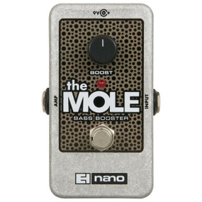 Electro-Harmonix THE MOLE Bass Booster Guitar Effects Pedal