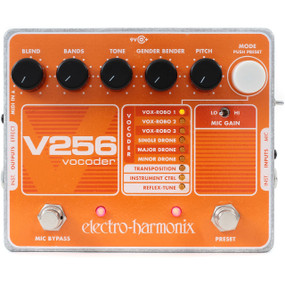 Electro-Harmonix V256 Vocoder with Reflex-Tune Effects Pedal