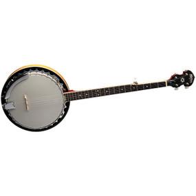 Washburn B9 5-String Resonator Banjo, Gloss Sunburst