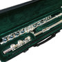 Jean Baptiste 182S C Foot Closed Hole Student Flute with Case