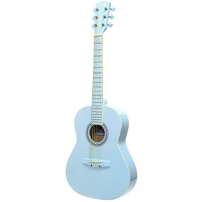 "Darling Divas DDPKG02BL 36"" Steel String Acoustic Guitar Pack, Powder Blue"
