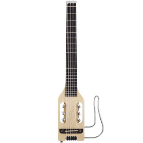 Traveler Ultra-Light Nylon Acoustic-Electric Travel Guitar with Gig Bag, Natural