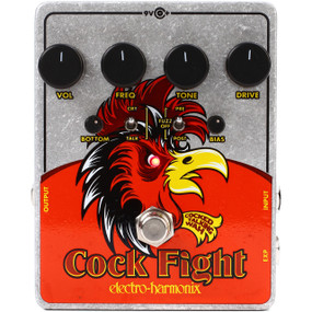 Electro-Harmonix COCK FIGHT Cocked Talking Wah and Fuzz Guitar Effects Pedal