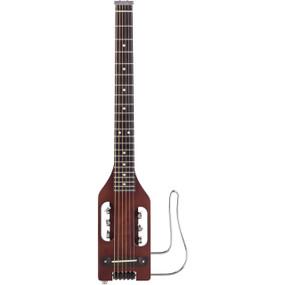 Traveler Guitar Ultra-Light Acoustic-Electric Travel Guitar, Antique Brown