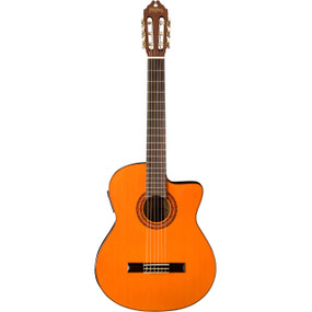 Washburn C5CE Classical Acoustic-Electric Guitar, Natural