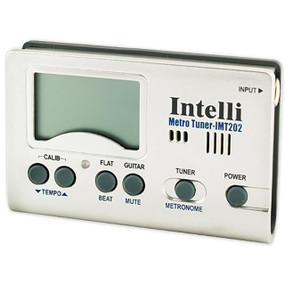 Intelli IMT-202 Digital Chromatic Instrument Tuner and Metronome with Stand
