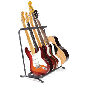 Fender 5-Space Folding Multi Guitar Stand, 099-1808-005