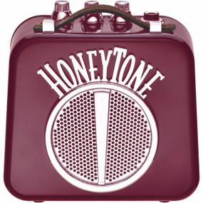 Danelectro HoneyTone N10 Mini Guitar Amplifier, Burgundy