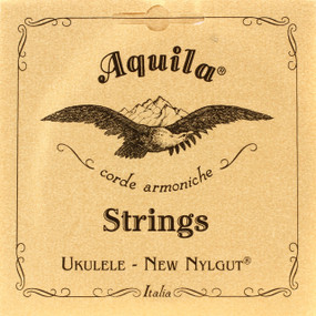 Aquila 4U New Nylgut Soprano Ukulele Strings, High G