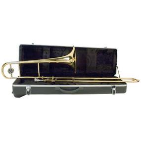 Palatino WI-816-TB Bb Tenor Trombone with Hard Case, B-Flat Student Slide Trombone