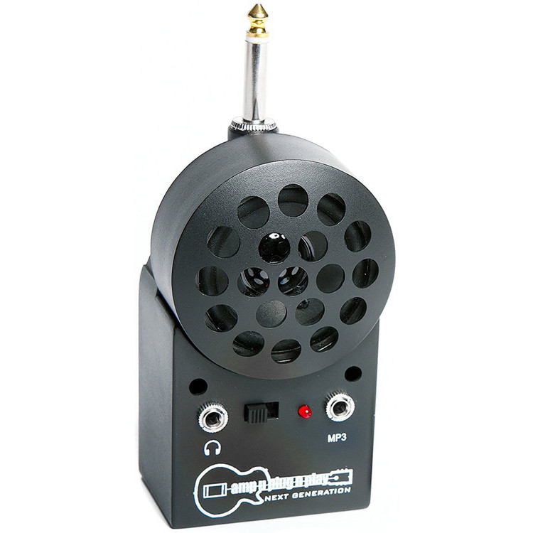 AMPUPLUGNPLAY Next Generation Mini Portable Guitar and Bass Practice Amp with MP3 Input (AMPNG)