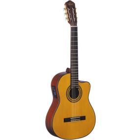 Oscar Schmidt OC11CE Nylon String Acoustic-Electric Classical Guitar, Natural