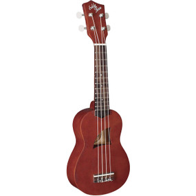 Eddy Finn EF-1-S Soprano Ukulele with Aquila Strings, Natural