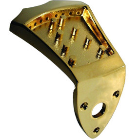 Morgan Monroe AB-TP-GD Ashton Bailey Diecast Mandolin Tailpiece, Gold