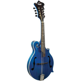 Morgan Monroe MM-300BL American Roots F-Style Mandolin, Blue