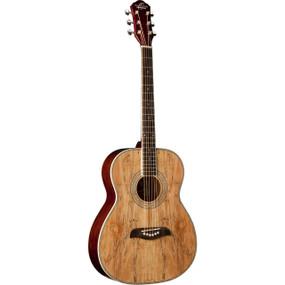 Oscar Schmidt OF2SM Folk-Style Acoustic Guitar, Spalted Maple