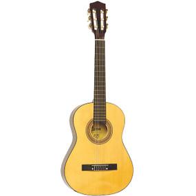 Lauren LA34N Student 3/4 Size Nylon String Classical Acoustic Guitar, Natural