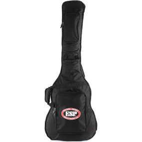 ESP LTD Deluxe Padded Gig Bag for Electric Bass Guitar, Black CGIGDXB