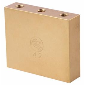 Floyd Rose FROFTB42 Original Fat Brass Tremolo Block, 42mm