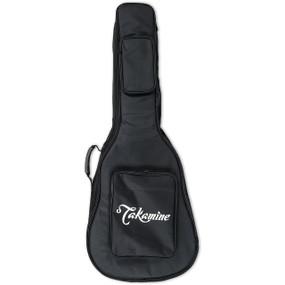 Takamine GB-J Padded Gig Bag for Jumbo Body Guitars, Black