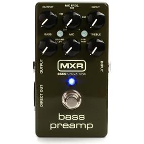 Dunlop MXR Bass Innovations M81 Bass Preamp Pedal w/ 3-Band EQ