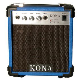Kona 10 Watt Guitar Amp KCA15BL Guitar Amplifier , Blue