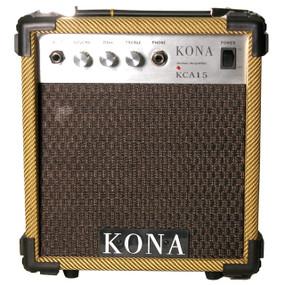 Kona 10 Watt Guitar Amp KCA15TW Classic Guitar Amplifier, Tweed