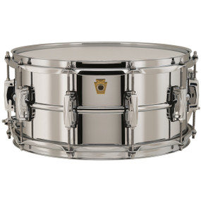 """Ludwig LB402B Supraphonic 6.5""""X 14"""" Snare Drum, Chrome Plated Brass Shell"""