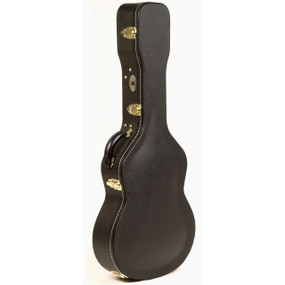 Guardian CG-044-C Vintage Hardshell Classical Guitar Case, Black