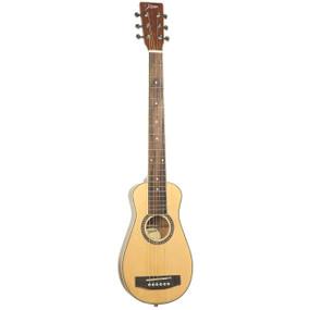 Johnson JG-TR6 Trailblazer II Spruce Top Acoustic Travel Guitar w/ Gig Bag
