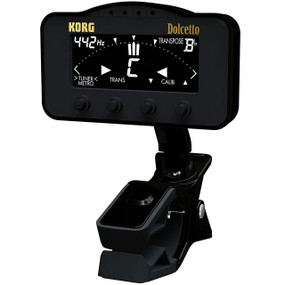 Korg AW3M Dolcetto Clip-On Tuner and Metronome for Orchestral Instruments