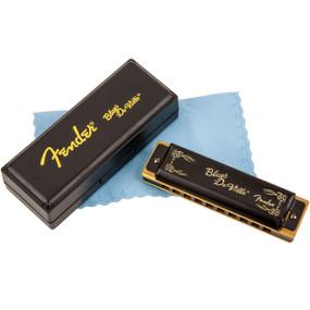 Fender Blues Deville Harmonica - Key of G, 10-Hole Diatonic, 099-0702-002
