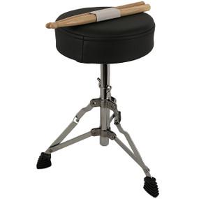 GP Percussion GP40 Complete Junior 3-Piece Kids Drum Set, Royal Blue