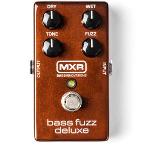 Dunlop MXR Bass Innovations M84 Bass Fuzz Deluxe Effects Pedal