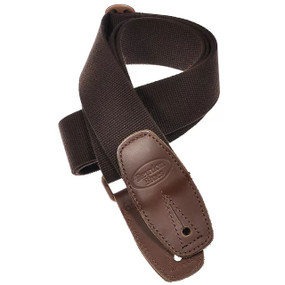Reunion Blues RBS-34 Merino Wool Guitar Strap, Brown