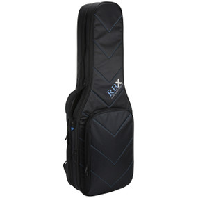 Reunion Blues RBX-2E RBX Double Electric Guitar Gig Bag, Black
