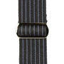 Reunion Blues RBS-93PS Merino Wool Guitar Strap, Blue Pinstripe