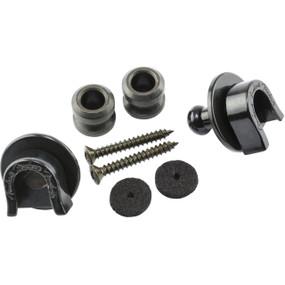 Fender 099-0690-006 Elite Security Strap Locks & Buttons, Black