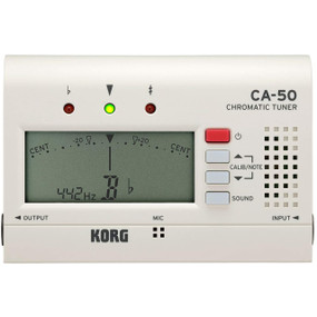 Korg CA50 Compact Multi-Instrument Chromatic Tuner for Band, Orchestra, Guitar
