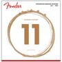 Fender 60CL Phosphor Bronze Acoustic Guitar Strings - Custom Light, 073-0060-405