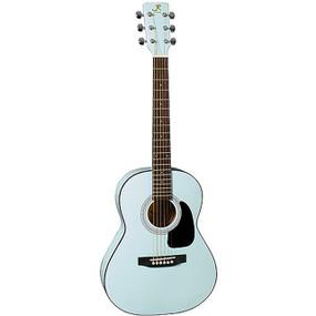 "J Reynolds JR14 Student 36"" Inch Dreadnought Acoustic Guitar, Powder Blue (JR14PB)"