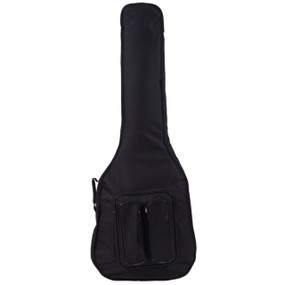 Guardian CG-400-AB DuraGuard Deluxe Acoustic Bass Guitar Gig Bag, Black