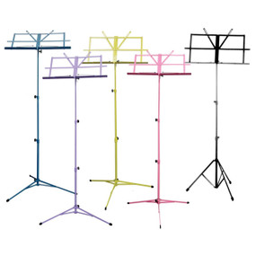 Guardian SM-030-RD Collapsible Music Stand, Red