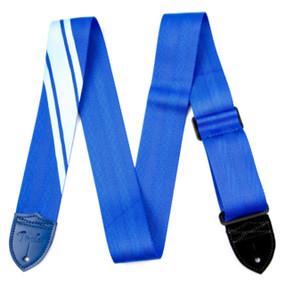 Fender 099-0608-004 Competition Stripe Guitar Strap, Blue