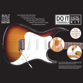 AXL BS-DIY Do It Yourself Strat Style Electric Guitar Build Kit (BS-DIY)