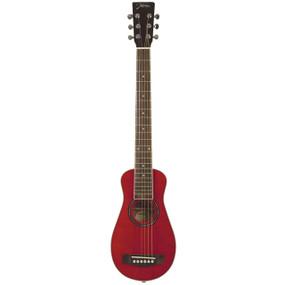 Johnson JG-TR2-L Trailblazer Left-Handed Acoustic Travel Guitar with Gig Bag