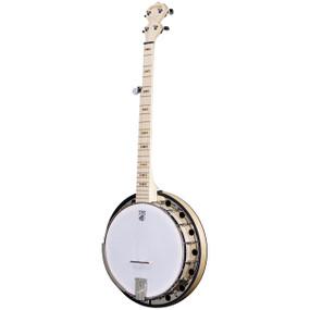 Deering Goodtime Two 5-String Resonator Banjo, Natural Blonde Maple (GDT-G2)